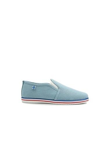 Benetton Bn30221  Kadın Spor Ayakkabı Mavi